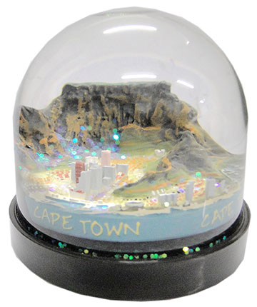 FG3507 Cape Town Water Globe