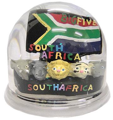 FG3550 South Africa Big Five Water Globe