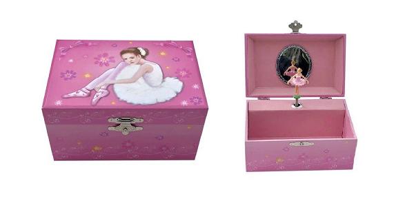 JB834- Ballerina Jewellery Box