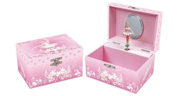JB838 – Ballerina Jewellery Box