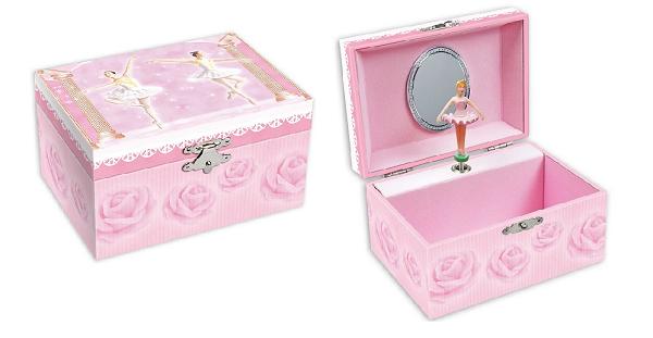 JB839 – Ballerina Jewellery Box
