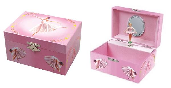 JB851 – Ballerina Jewellery Box