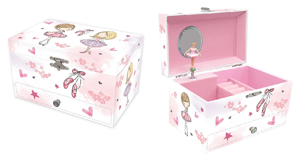 JB853 – Ballerina Jewellery Box