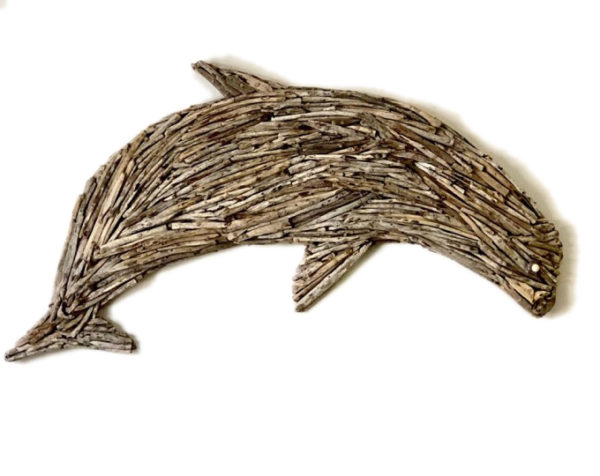 Driftwood dolphin