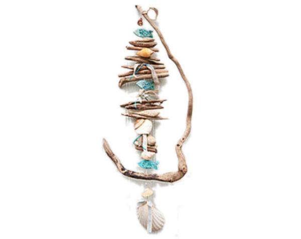 Driftwood art suncatchers